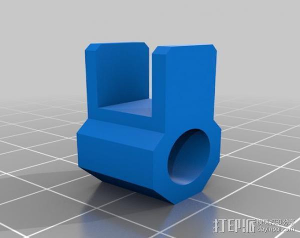 迷你手机支架 3D模型  图5