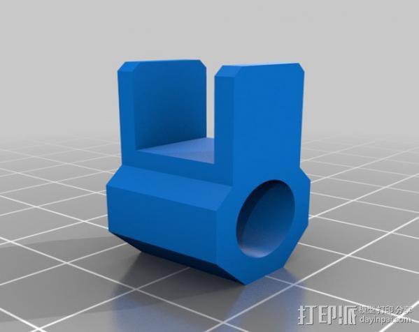 迷你手机支架 3D模型  图6