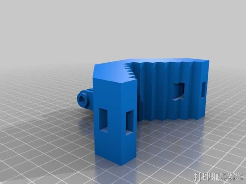 GoPro 适配器 3D模型  图1