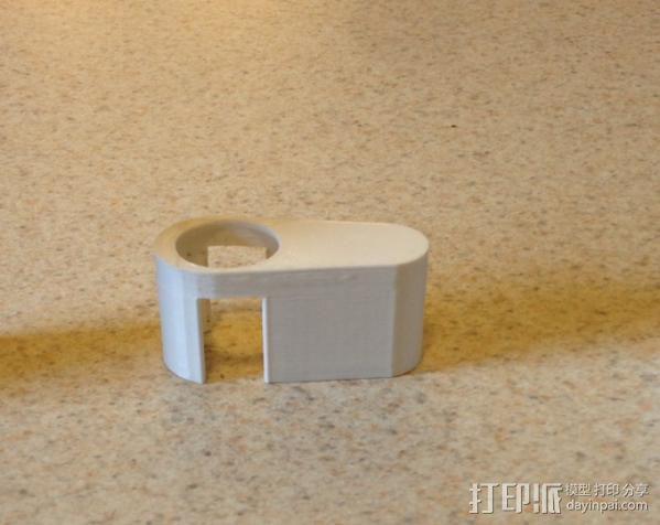 iPhone 5适配器 3D模型  图3
