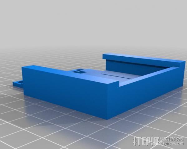 USB充电器 3D模型  图2