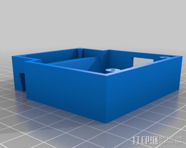 USB充电器 3D模型  图3