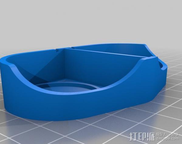 耳机扬声器 3D模型  图2