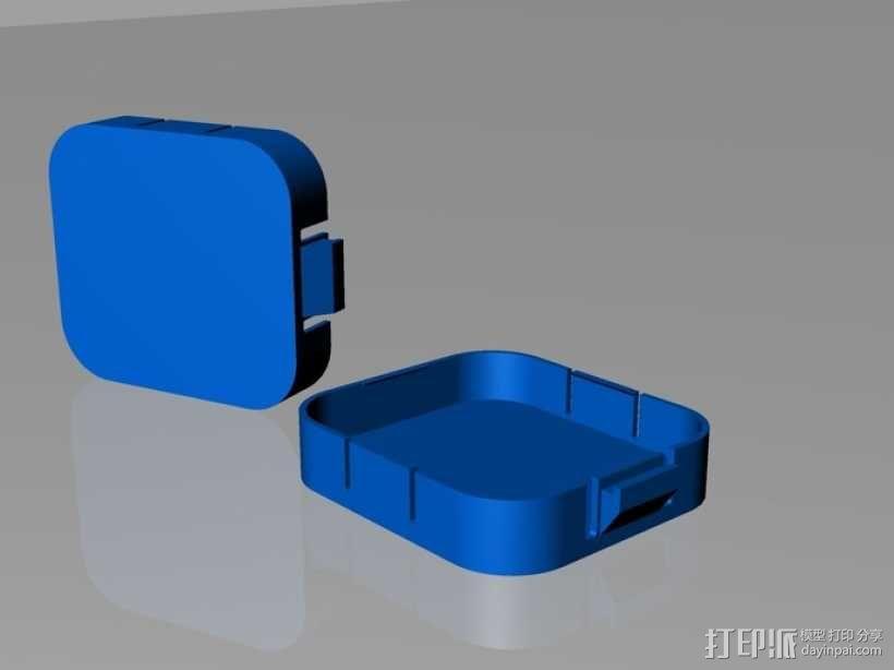 Gopro Hero3镜头盖 3D模型  图1