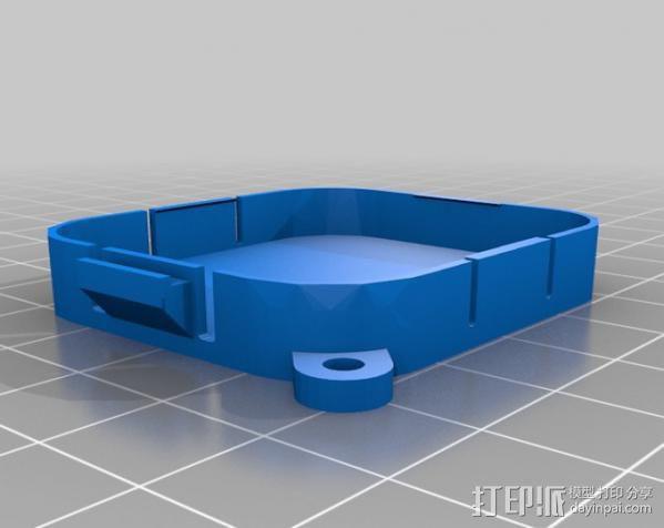 Gopro Hero3镜头盖 3D模型  图2