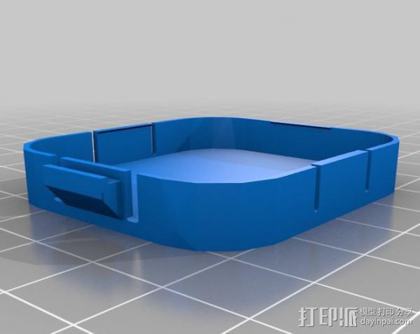Gopro Hero3镜头盖 3D模型  图3