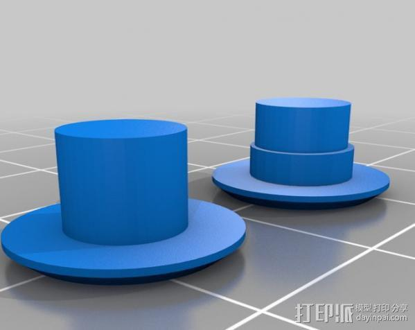 iPhone 5齿轮手机壳 3D模型  图2