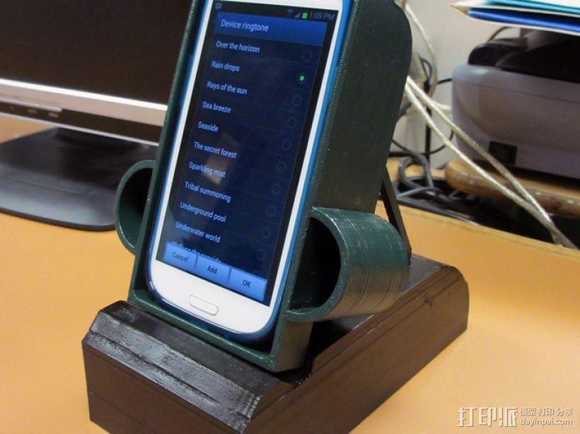 S3手机座 3D模型  图1