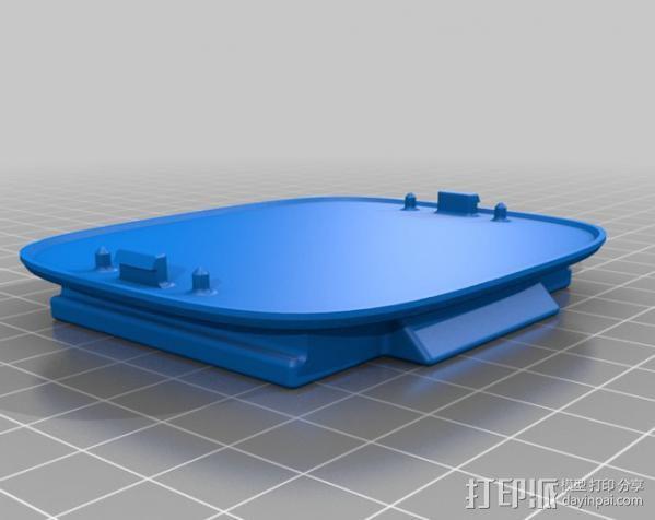 Kinect sensor适配器 3D模型  图2
