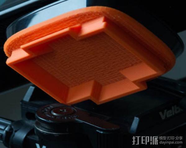 Kinect sensor适配器 3D模型  图5
