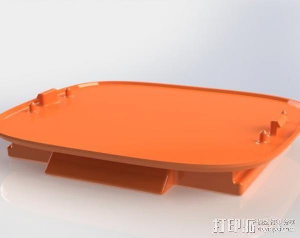 Kinect sensor适配器 3D模型  图3