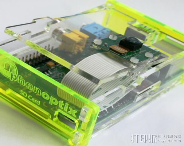 Raspberry Pi 保护壳 3D模型  图7