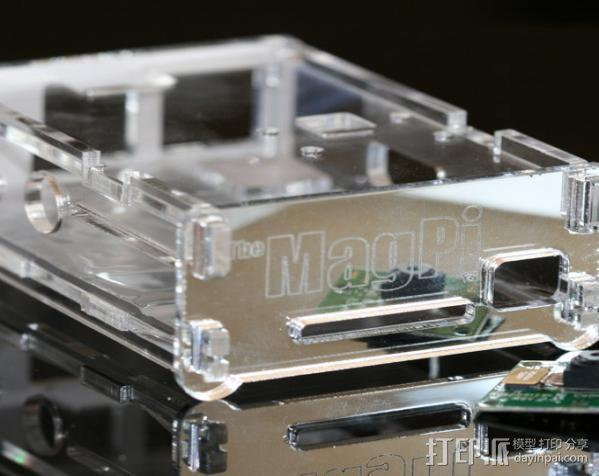 Raspberry Pi 保护壳 3D模型  图13