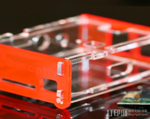 Raspberry Pi 保护壳 3D模型  图11