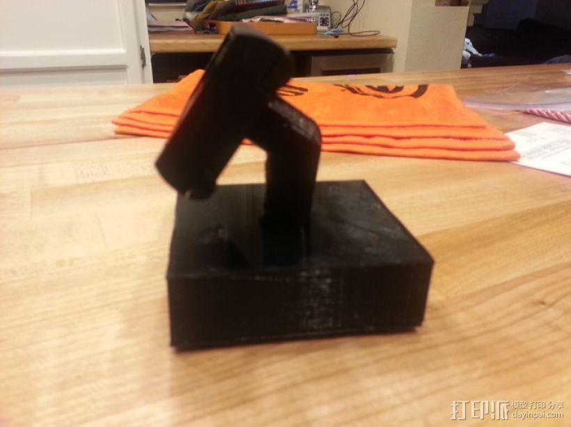 液晶显示器 3D模型  图7