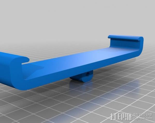 Nexus 7支架 3D模型  图2