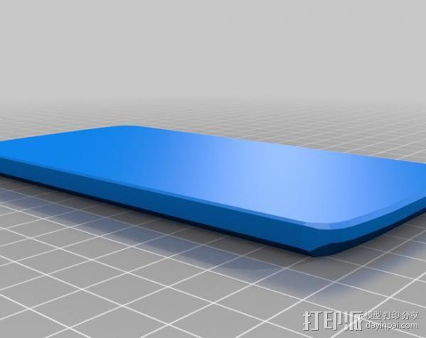 Nexus 4手机壳 3D模型  图1