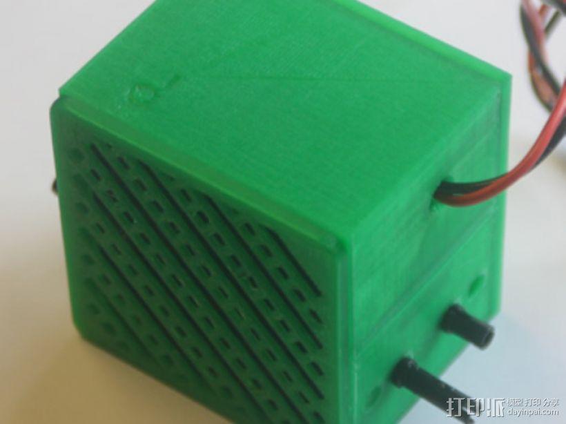 低音扬声器 3D模型  图1