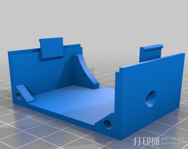 低音扬声器 3D模型  图4
