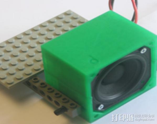 低音扬声器 3D模型  图9