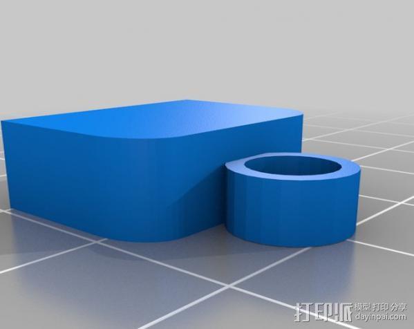 USB保护盖 3D模型  图2