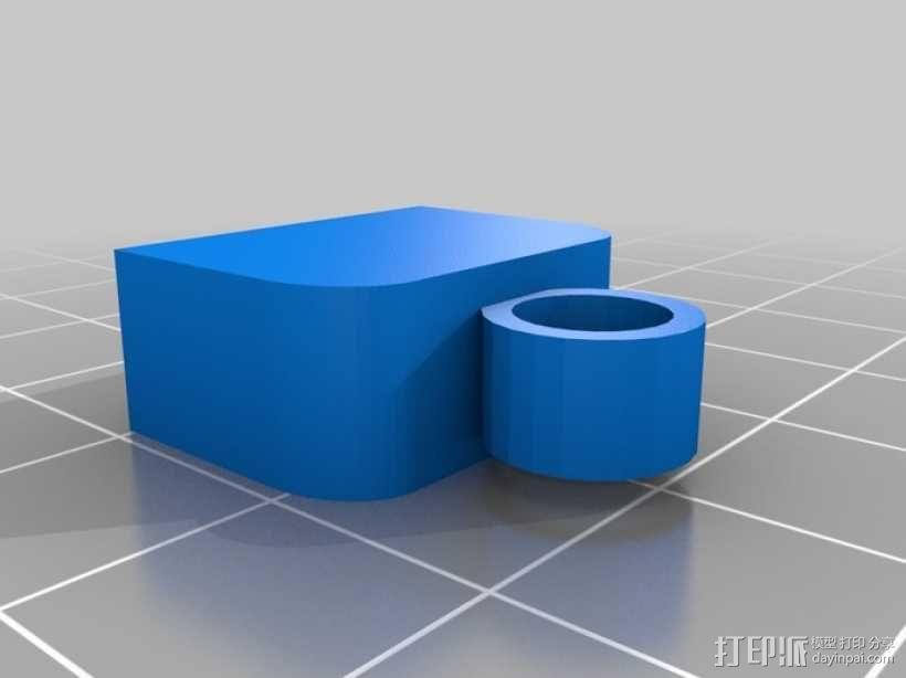 USB保护盖 3D模型  图1