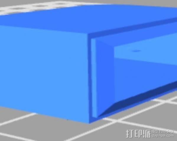 USB保护盖 3D模型  图5