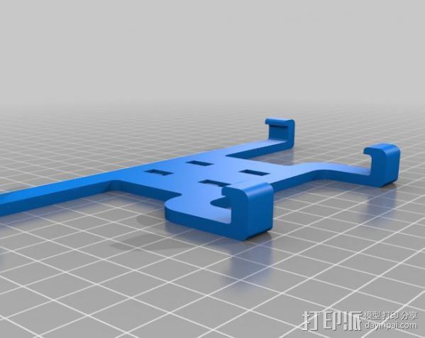 Sony Xperia Z支架 3D模型  图2