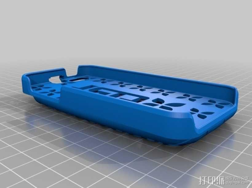 iPhone 5S手机壳名片夹 3D模型  图3