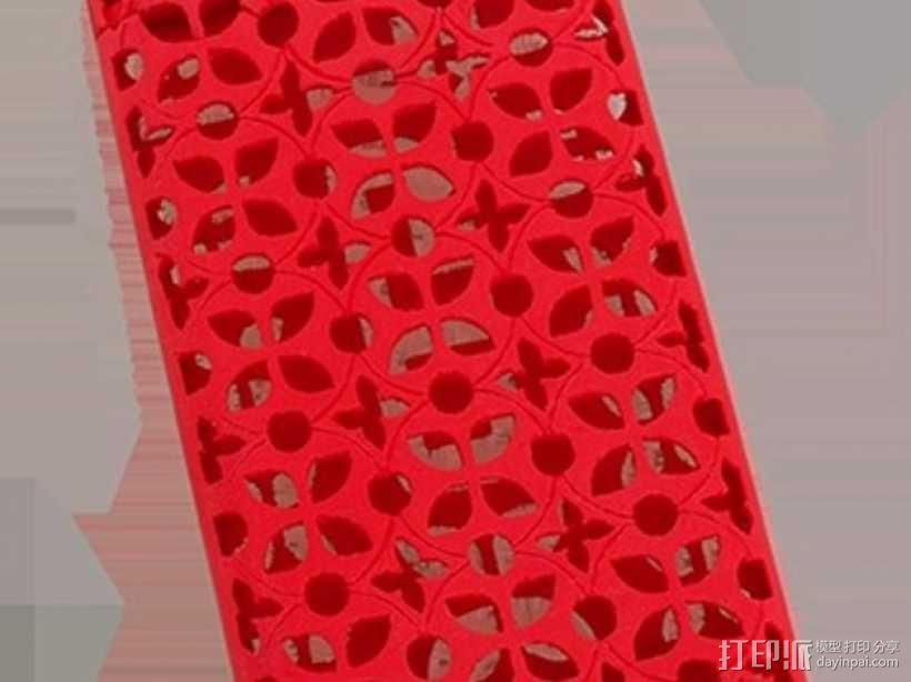 iPhone 5S手机壳名片夹 3D模型  图4