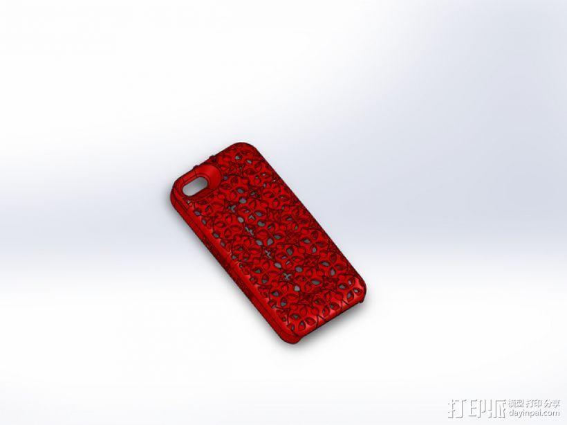 iPhone 5S手机壳名片夹 3D模型  图6