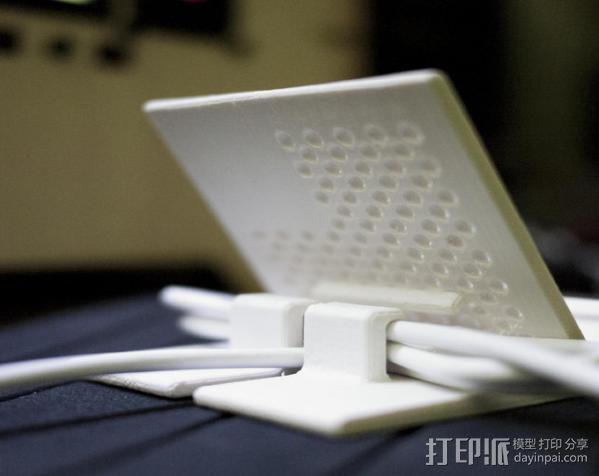 可充电手机座 3D模型  图4