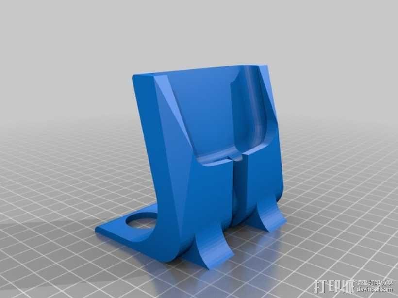 S3 手机座 3D模型  图1