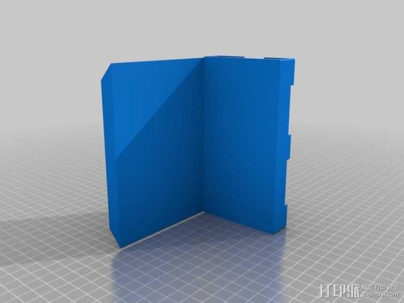 iPhone5车载手机座 3D模型  图3