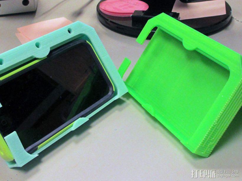 iPhone5车载手机座 3D模型  图2