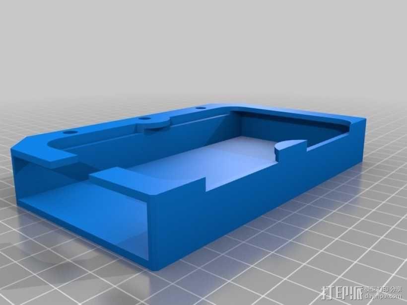 iPhone5车载手机座 3D模型  图5