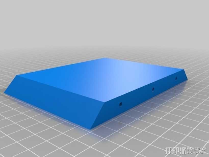 iPhone5车载手机座 3D模型  图4