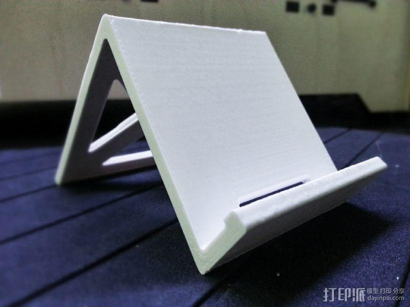 Note 2手机座 3D模型  图3