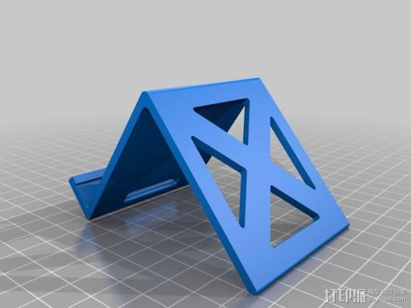 Note 2手机座 3D模型  图2