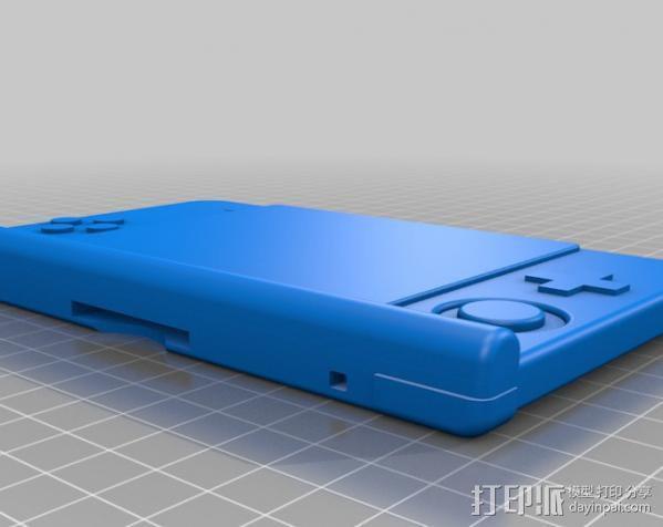 任天堂3D游戏机壳 3D模型  图1