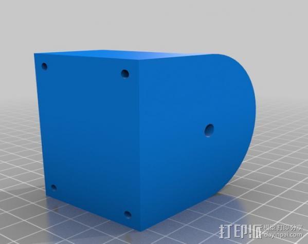 阿基米德旋转模型 3D模型  图4