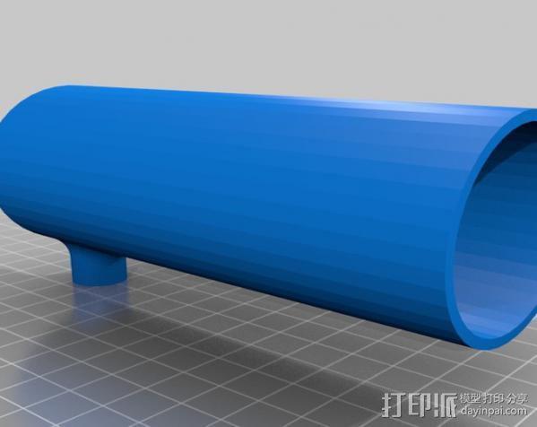 阿基米德旋转模型 3D模型  图6