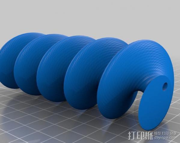 阿基米德旋转模型 3D模型  图7