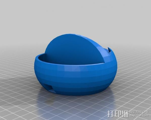 Galaxy S3 手机座 3D模型  图2