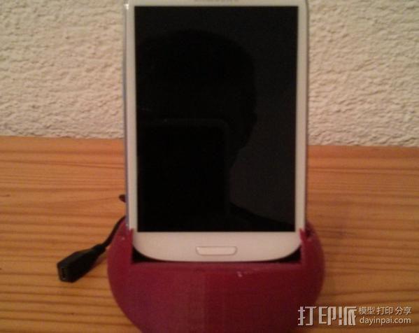Galaxy S3 手机座 3D模型  图5