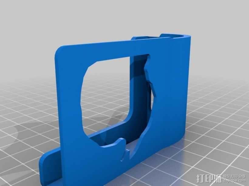 Microsoft Surface音量放大器 3D模型  图1