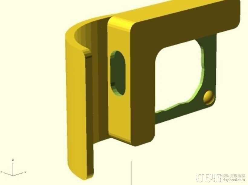 Microsoft Surface音量放大器 3D模型  图5