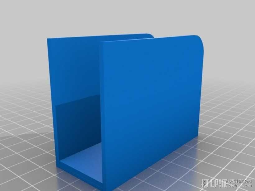 挂钩耳机收纳器 3D模型  图3