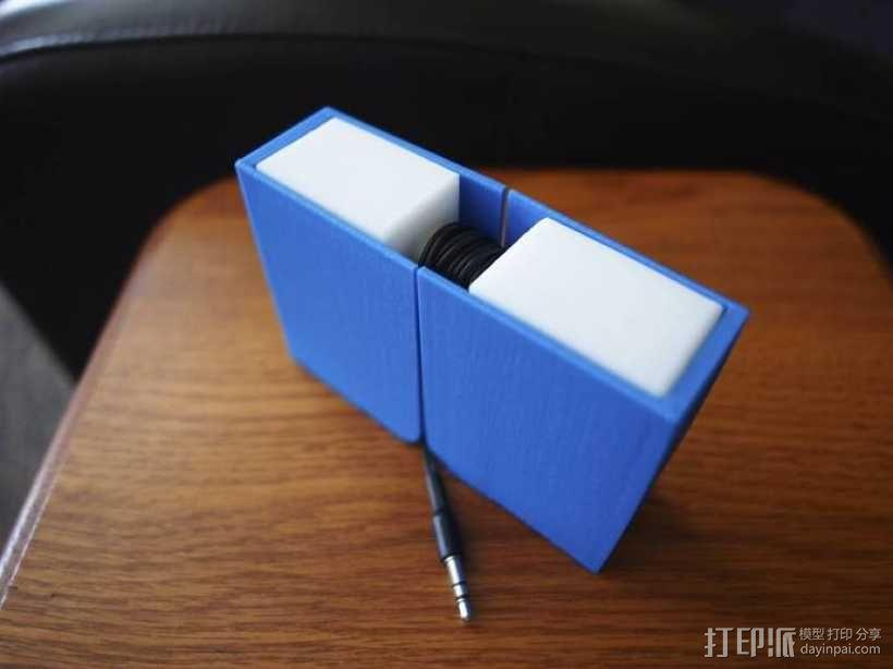 挂钩耳机收纳器 3D模型  图4