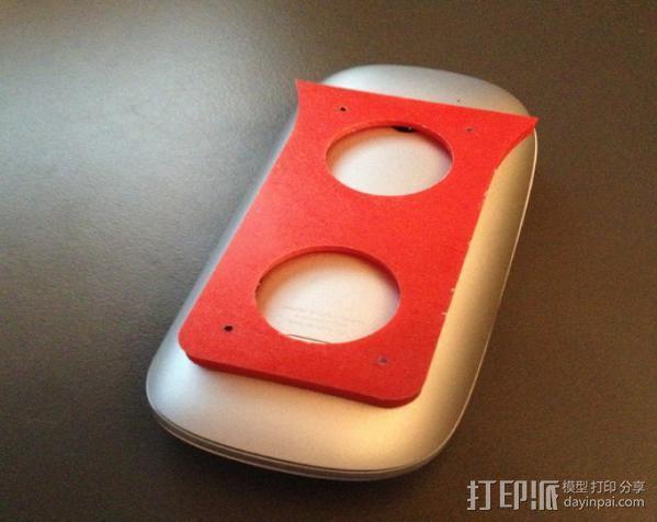 苹果鼠标适配器 3D模型  图3
